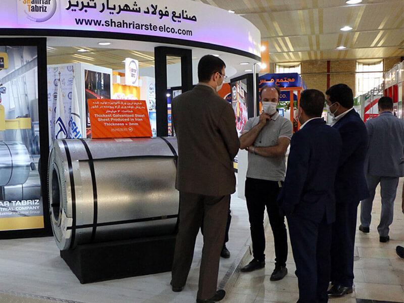 نمایشگاه بین المللی متالوژی فولاد و صنایع وابسته در تبریز در حال برگزاری است.