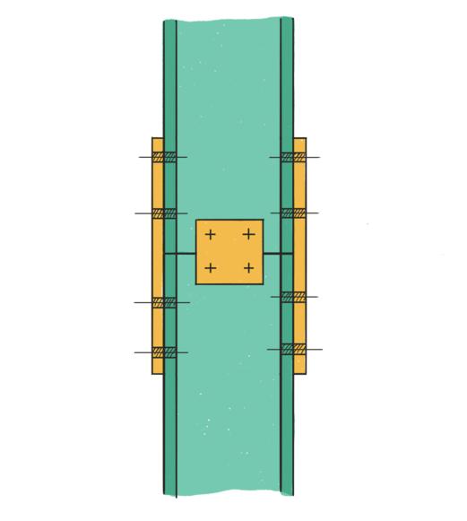اتصال ستون به ستون