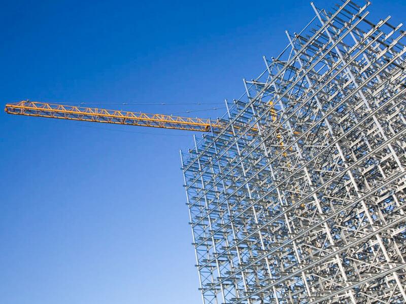 ساخت ساختمان های فلزی از پی تا سقف