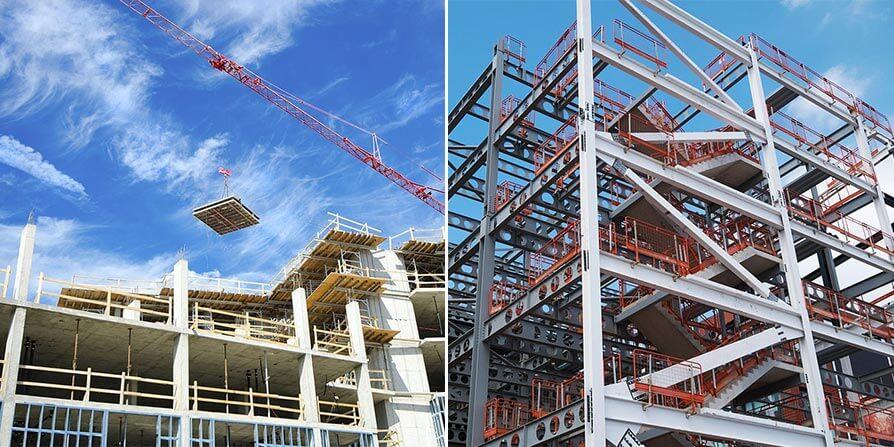 سازه های بتنی یا فلزی