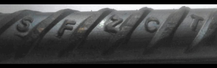 علامت اختصاری میلگرد صبا فولاد زاگرس