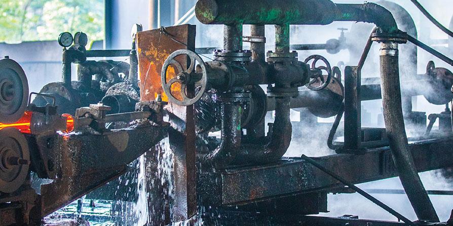 فرایند خنک کاری در تولید میلگرد