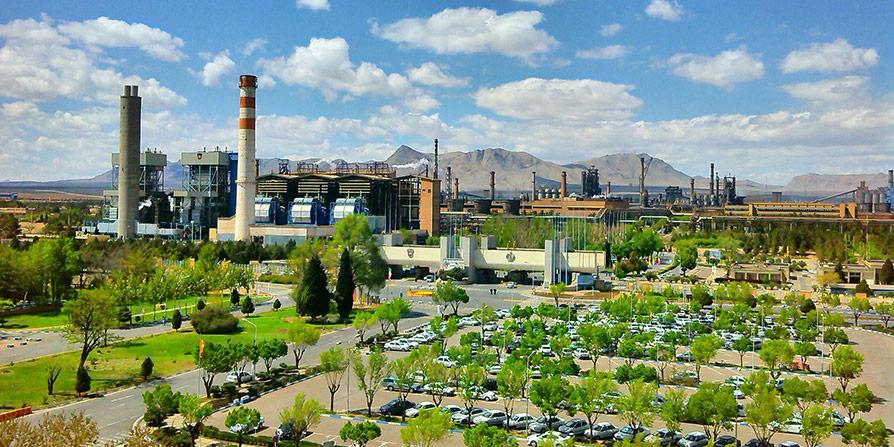 تصویر کارخانه ذوبآهن اصفهان