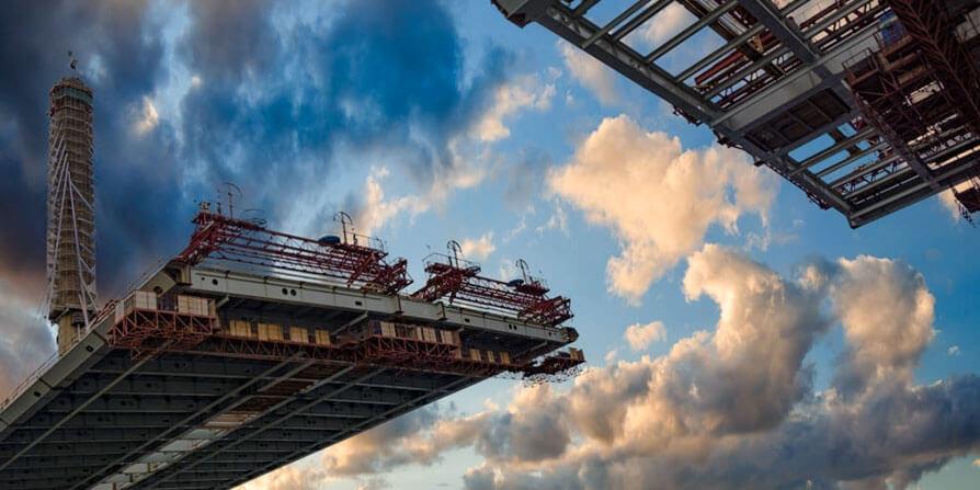تصویر ساخت عرشه پل