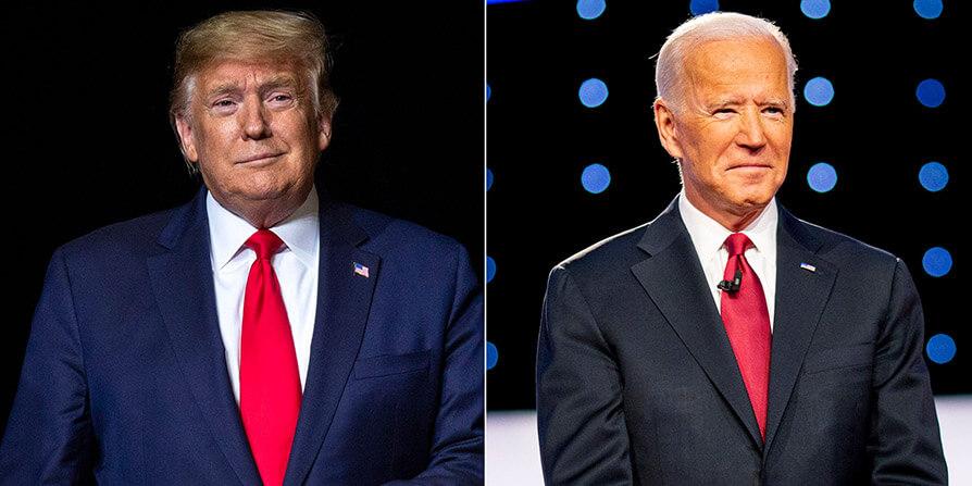 جدال ترامپ و جو بایدن