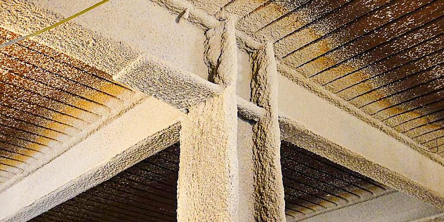 تصویر پوشش ضد حریق برای سازه فولادی