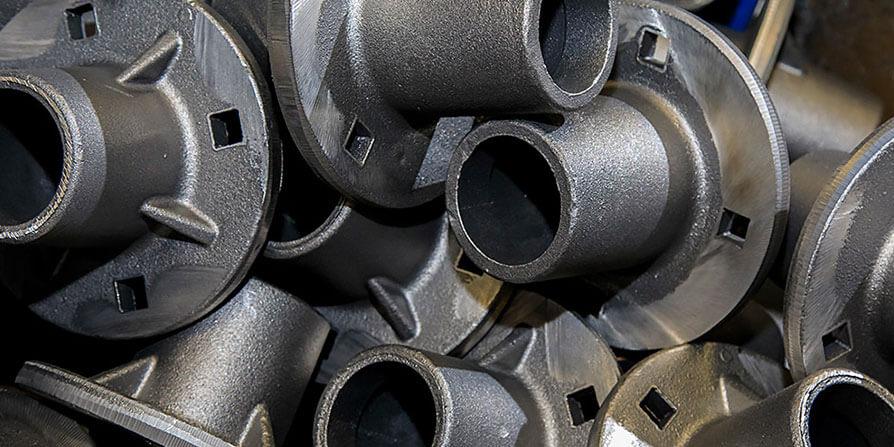 تصویر فلزات آهنی چدنی