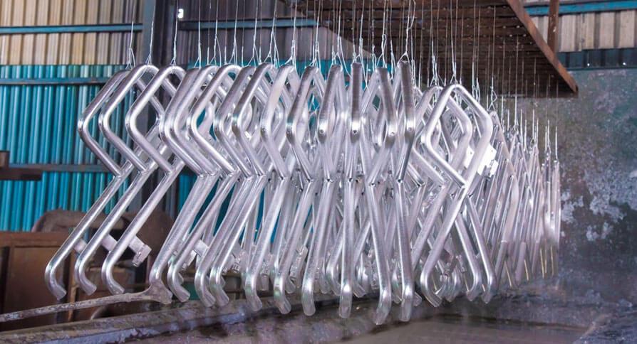 تصویر گالوانیزه کردن فلز