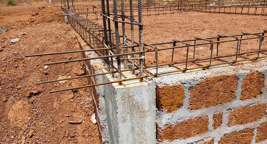 تصویر پایه ستون در سازه