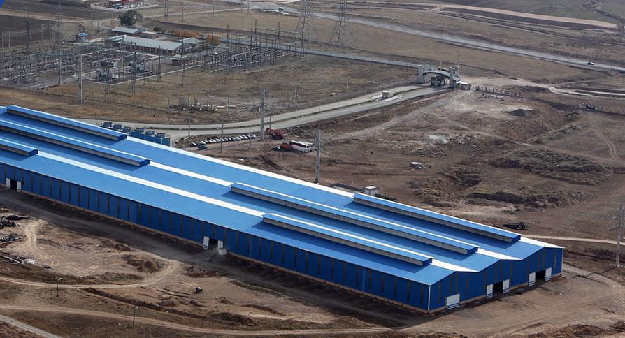 تصویر کارخانه فولاد کاوه تیکمه داش