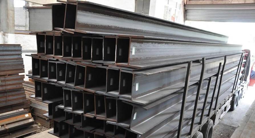 تصویر تیرآهن فولادی