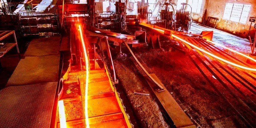 تصویر فرآیند تولید فولاد نرم
