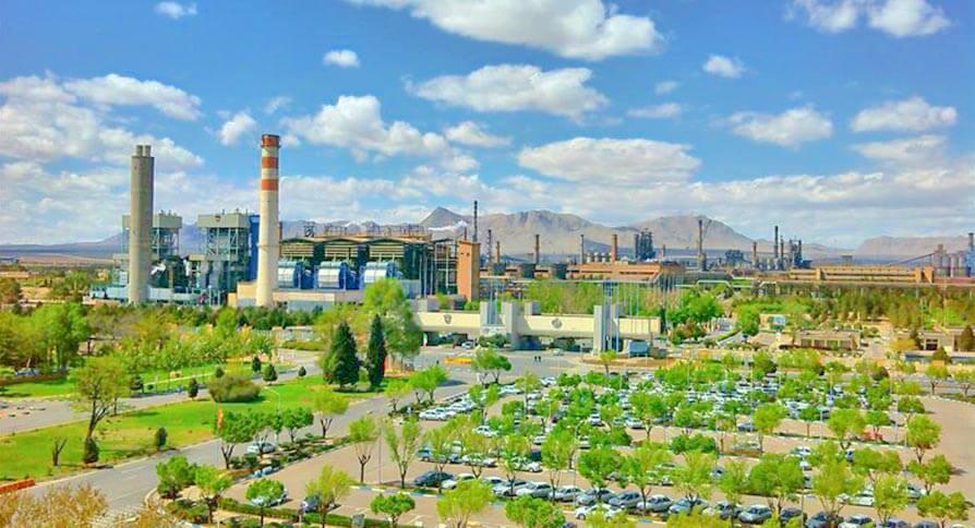 تصویر کارخانه ذوب آهن اصفهان